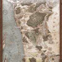 Geografia dei Reami: introduzione alla Costa della Spada settentrionale - 1356 DR
